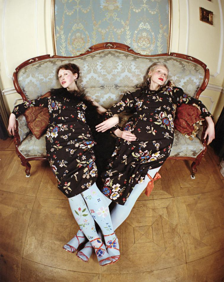 Three sisters. Fashion story. Brand Naya Rea