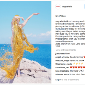 Uldus Won The Best Fashion Photographer by Vogue Italy!
