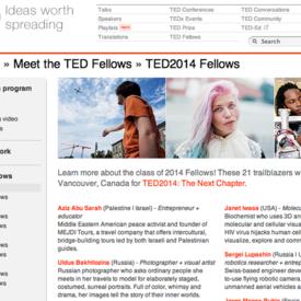 Ted Fellowship 2014
